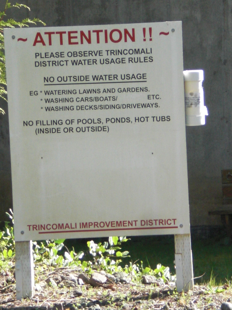 Trincowatersign