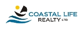 Coastal Life Realty Logo white